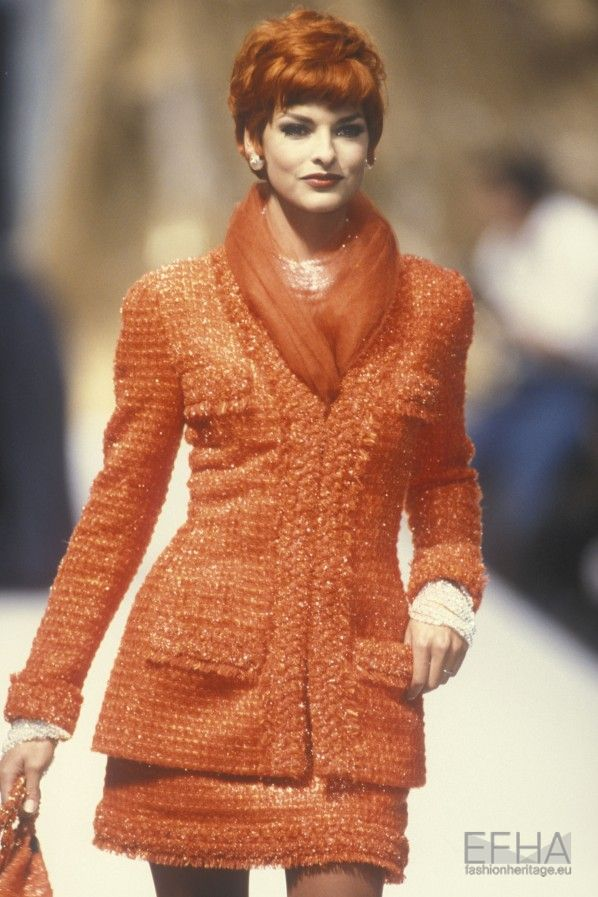 Chanel Autumn Winter 1991 Couture